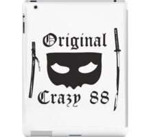 Kill Bill Original Crazy 88 iPad Case/Skin