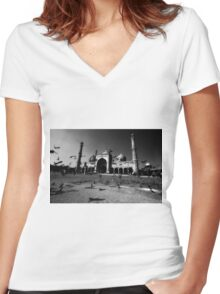 The Friday Mosque Women's Fitted V-Neck T-Shirt