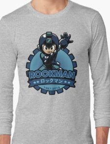 The Blue Bomber Long Sleeve T-Shirt