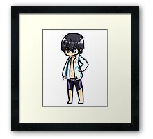 Haru Chibi [Free!] Framed Print