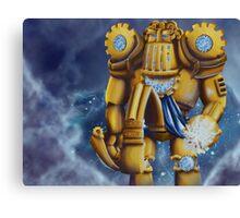 Robo Zeus Canvas Print