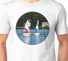 Striped Sails Unisex T-Shirt