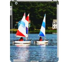Striped Sails iPad Case/Skin