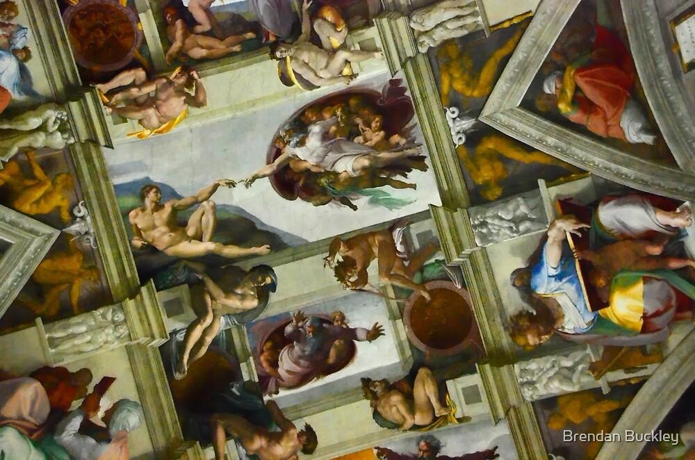 Sistine Chapel by Brendan Buckley