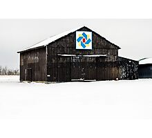 Boone County Barn Quilt Photographic Print