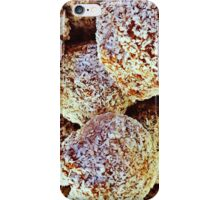 Lemon Coconut Pound Cake Bites iPhone Case/Skin