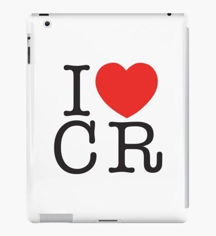 I <3 CRITICAL ROLE (CR) - Black iPad Case/Skin