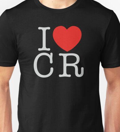 I <3 CRITICAL ROLE (CR) - White Unisex T-Shirt
