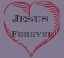 Jesus Forever.  Kids Tee