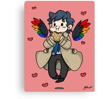 Castiel - Dean Made This Canvas Print