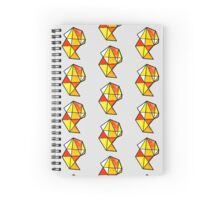 warm colors Spiral Notebook