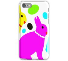 3 rabbits iPhone Case/Skin