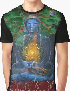 The Buddha Dreams a Tree Graphic T-Shirt