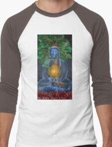 The Buddha Dreams a Tree Men's Baseball ¾ T-Shirt