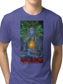 The Buddha Dreams a Tree Tri-blend T-Shirt