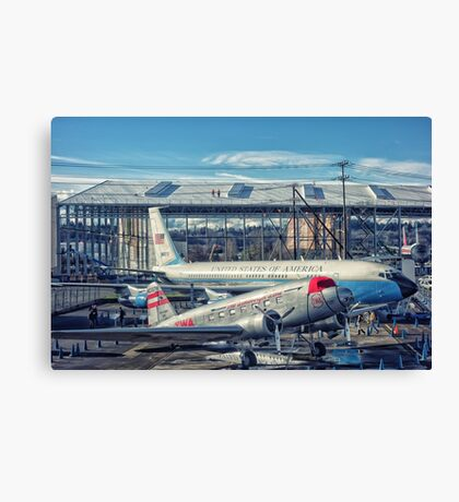 Air Force One 1 Canvas Print