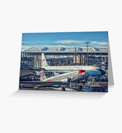 Air Force One 1 Greeting Card