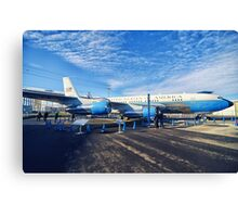 Air Force One 2 Canvas Print