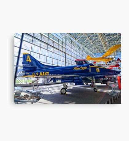 US Navy Blue Angel Canvas Print