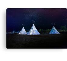 Camping El Cosmico, Marfa, United States Canvas Print