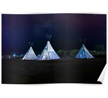 Camping El Cosmico, Marfa, United States Poster