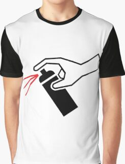 Spray Paint Icon Graphic T-Shirt