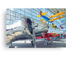 Vintage Aircraft Canvas Print