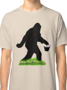 Gone Easter Squatchin with Pastel Background Classic T-Shirt