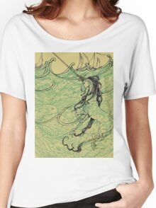 Unicorn in Sea Women's Relaxed Fit T-Shirt