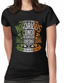 Conor McGregor Crest [TRICOL] Womens Fitted T-Shirt