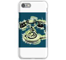 telephone shirt iPhone Case/Skin