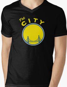 Golden State Warriors Retro Mens V-Neck T-Shirt