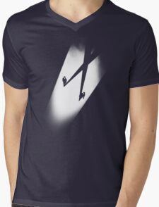 X Files Mens V-Neck T-Shirt
