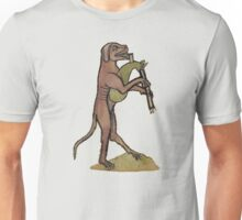 Catpipes / Dog playing cat bagpipes Unisex T-Shirt