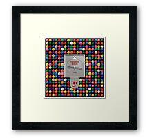 The Gumball Machine Framed Print