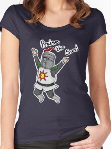 Praise the Sun! Women's Fitted Scoop T-Shirt