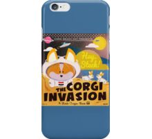 Corgi Invasion - Oregon Beach Day iPhone Case/Skin