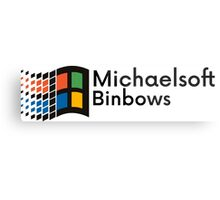Michaelsoft Binbows Metal Print