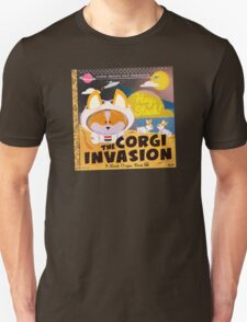 Corgi Invasion - Oregon Beach Day Unisex T-Shirt