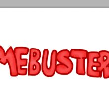 Gamebuster911TV Logo Remastered (2009-2010) Sticker
