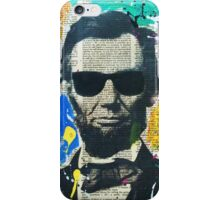 Cool Abraham Lincoln iPhone Case/Skin