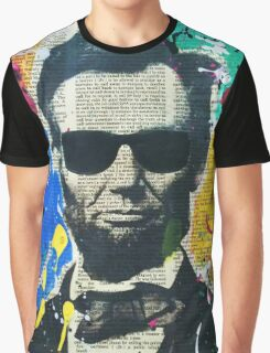 Cool Abraham Lincoln Graphic T-Shirt