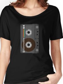 Commodore 64 Cassette Tape Women's Relaxed Fit T-Shirt