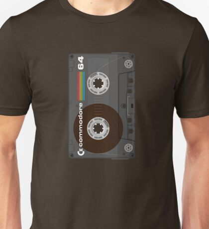 Commodore 64 Cassette Tape Unisex T-Shirt