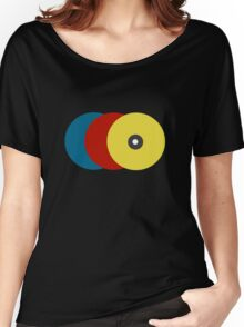 abstract records Women's Relaxed Fit T-Shirt