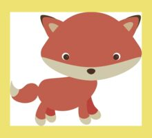 Cute Baby Fox Kids Tee