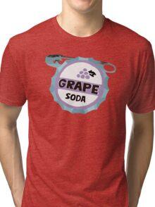 UP Grape soda badge Tri-blend T-Shirt