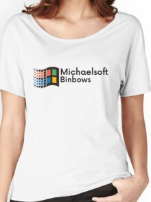 Michaelsoft Binbows Women's Relaxed Fit T-Shirt