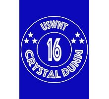 USWNT Crystal Dunn in white logo Photographic Print