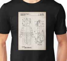 Lego Minifigure US Patent Art Unisex T-Shirt